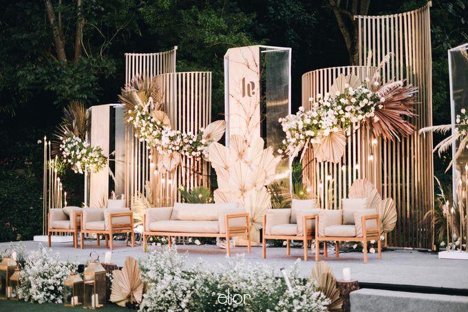 The Wedding of Lucky & Ericia by Elior Design - 035