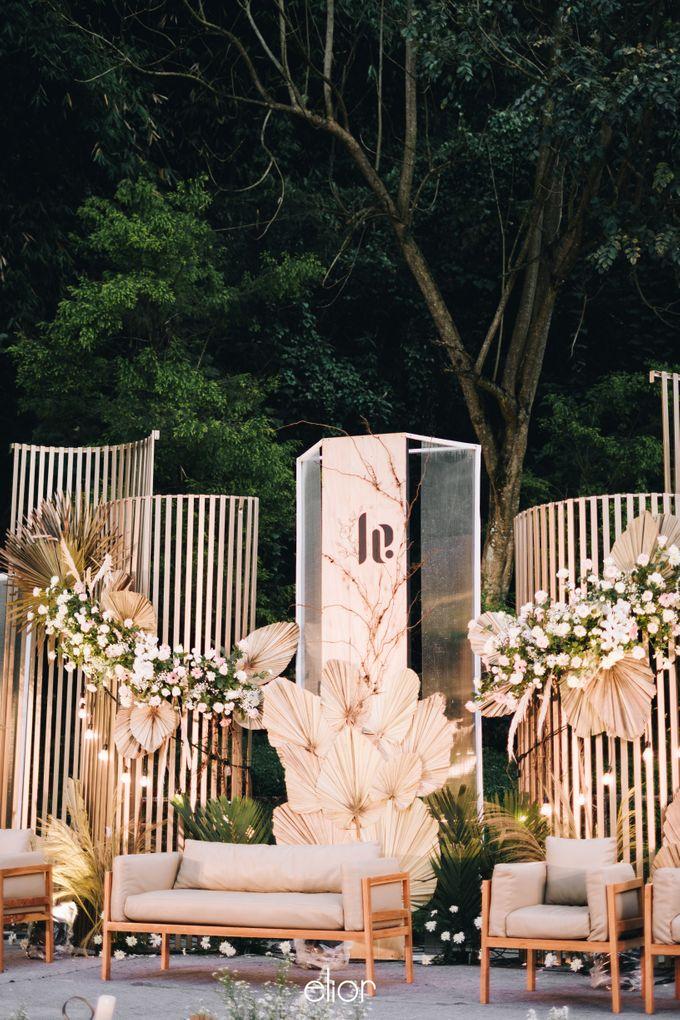 The Wedding of Lucky & Ericia by Elior Design - 036