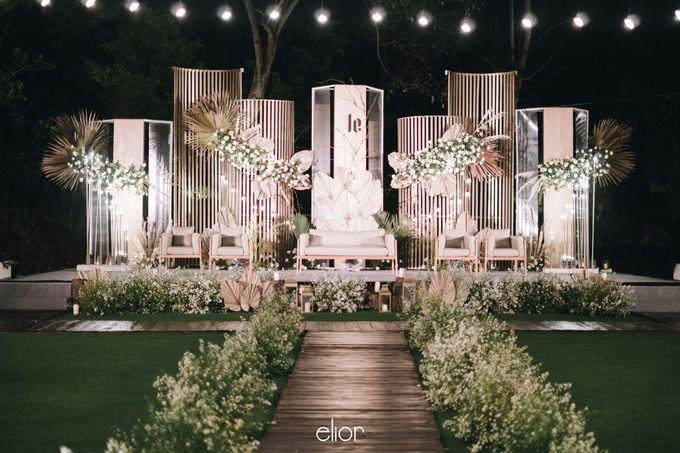 The Wedding of Lucky & Ericia by Elior Design - 041