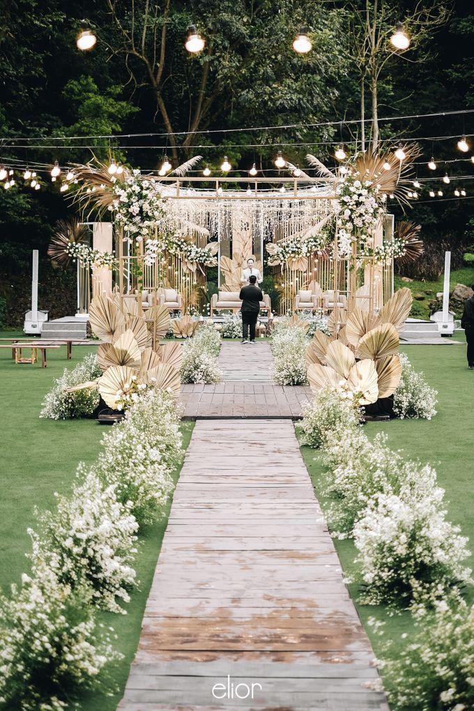 The Wedding of Lucky & Ericia by Elior Design - 008