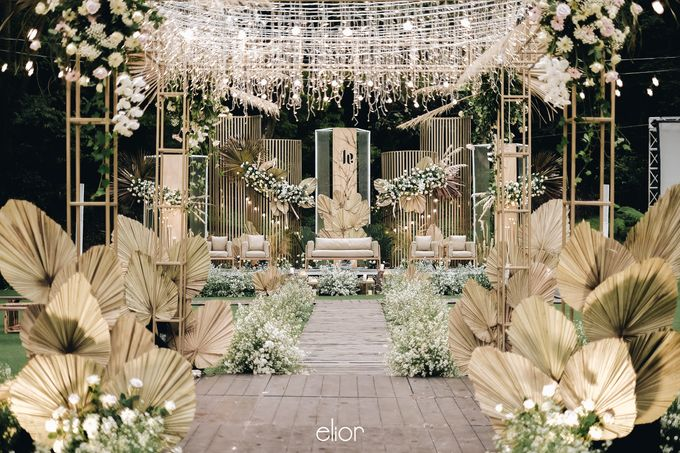 The Wedding of Lucky & Ericia by Elior Design - 009
