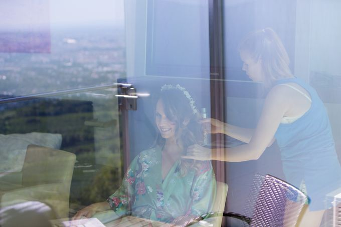 Wedding on the Top of Vienna by Michele Agostinis Photographer - 002