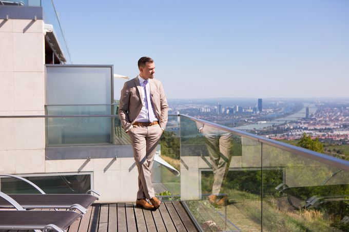 Wedding on the Top of Vienna by Michele Agostinis Photographer - 004