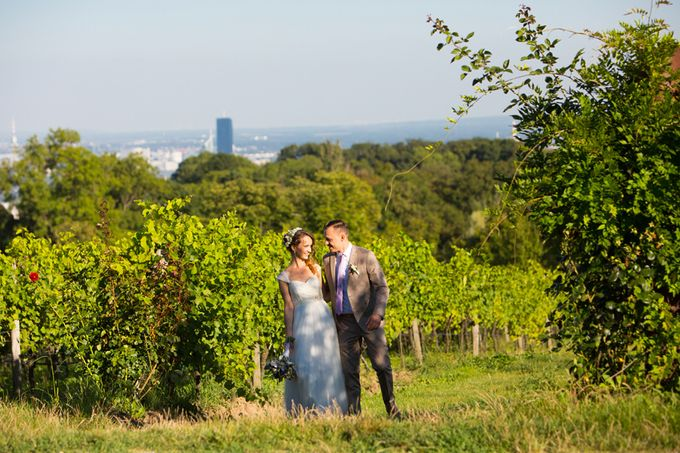 Wedding on the Top of Vienna by Michele Agostinis Photographer - 007