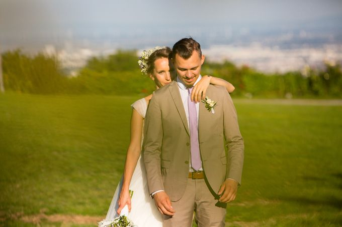Wedding on the Top of Vienna by Michele Agostinis Photographer - 008