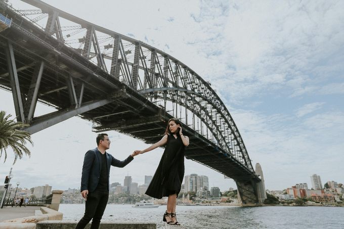 Couple session of A+F at Sydney by Lumilo Photography - 003
