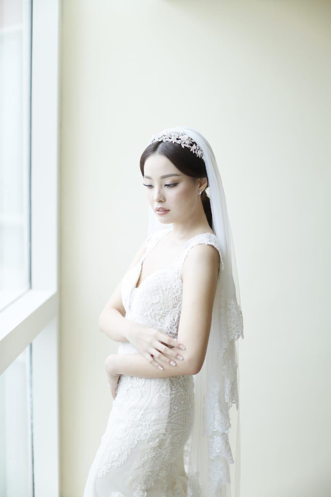 Wedding Stephanie and Sastra by Luminous Bridal Boutique - 002