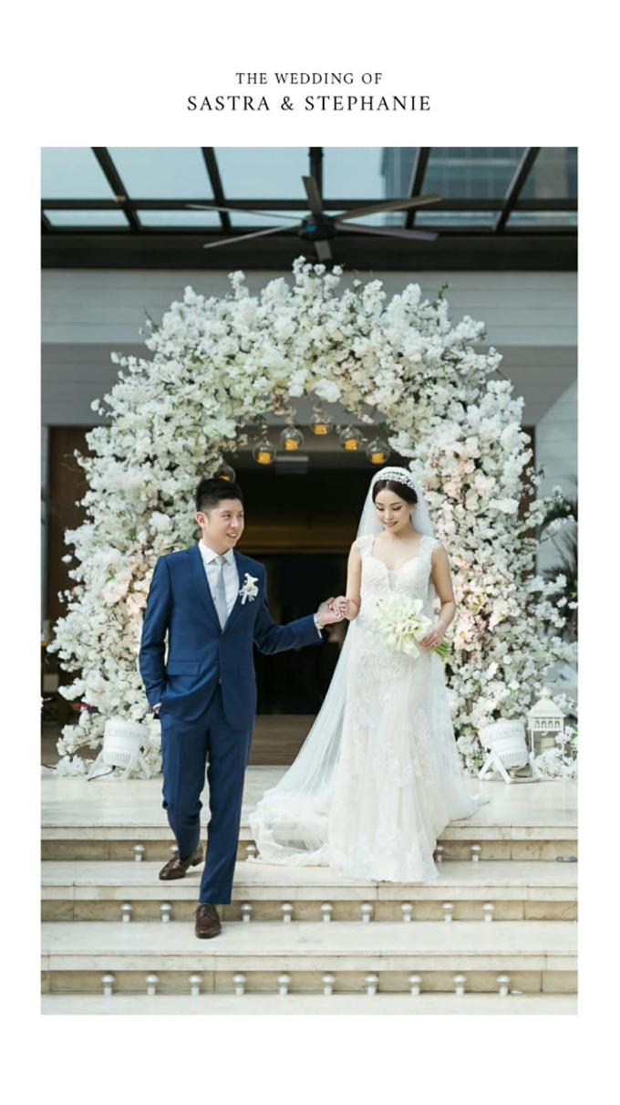 Wedding Stephanie and Sastra by Luminous Bridal Boutique - 020