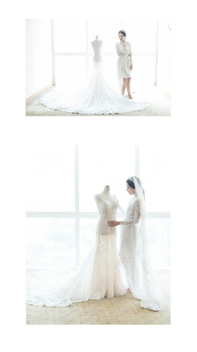 Wedding Stephanie and Sastra by Luminous Bridal Boutique - 021