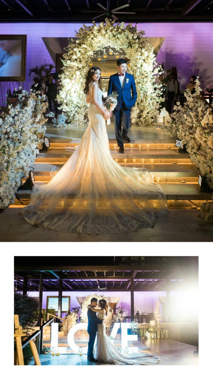 Wedding Stephanie and Sastra by Luminous Bridal Boutique - 024