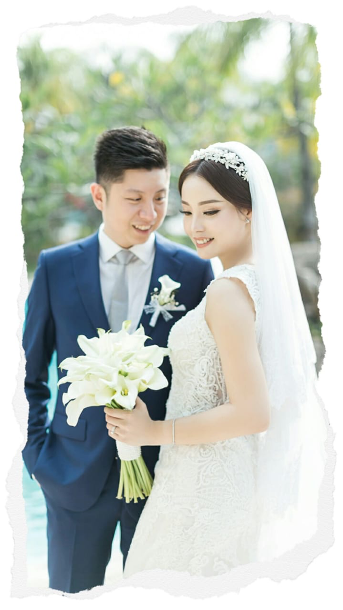 Wedding Stephanie and Sastra by Luminous Bridal Boutique - 027