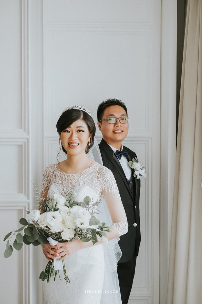 Wedding Day Robert and Nova by Luminous Bridal Boutique - 002