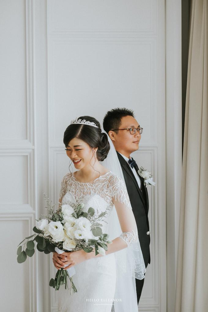 Wedding Day Robert and Nova by Luminous Bridal Boutique - 005
