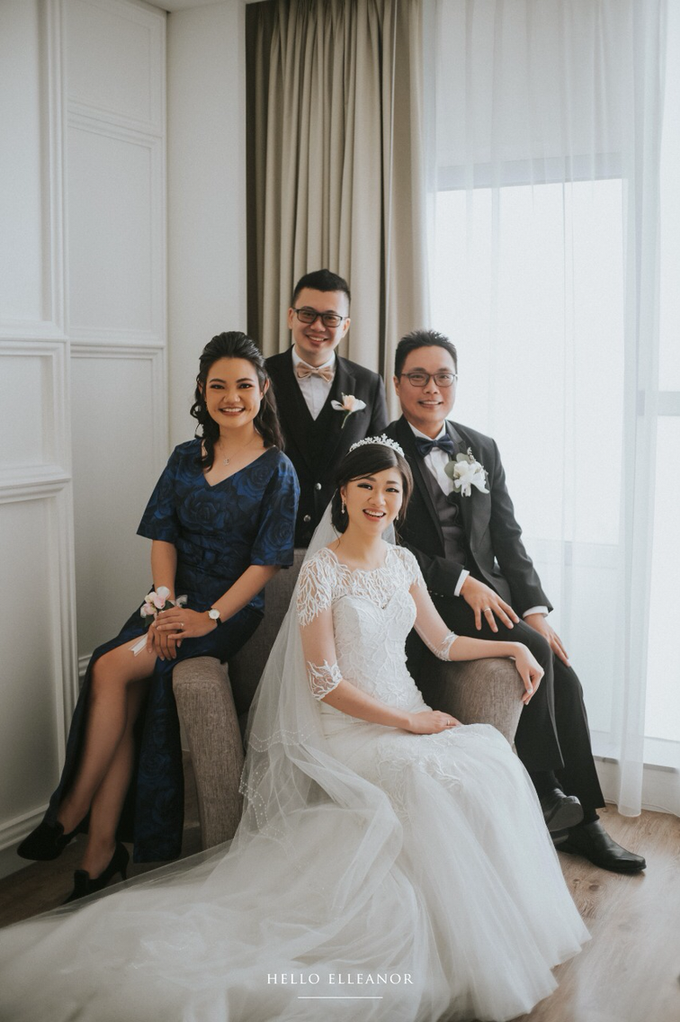 Wedding Day Robert and Nova by Luminous Bridal Boutique - 006