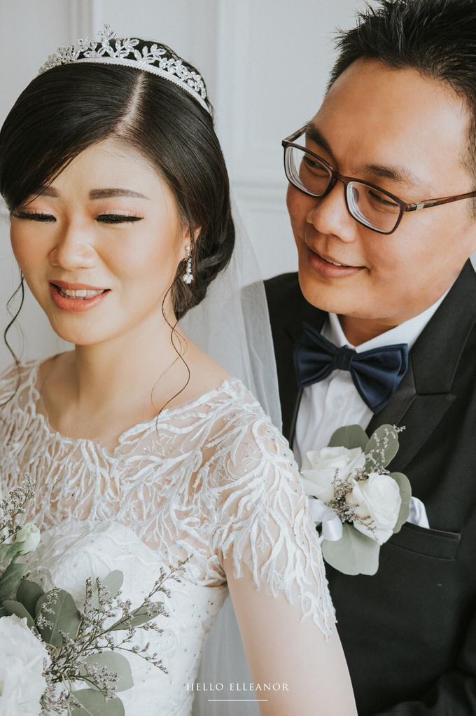 Wedding Day Robert and Nova by Luminous Bridal Boutique - 007