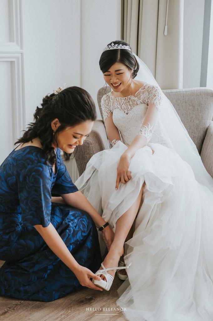 Wedding Day Robert and Nova by Luminous Bridal Boutique - 008