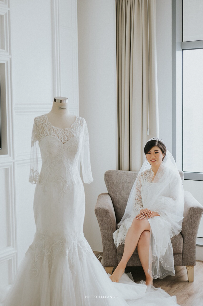 Wedding Day Robert and Nova by Luminous Bridal Boutique - 009