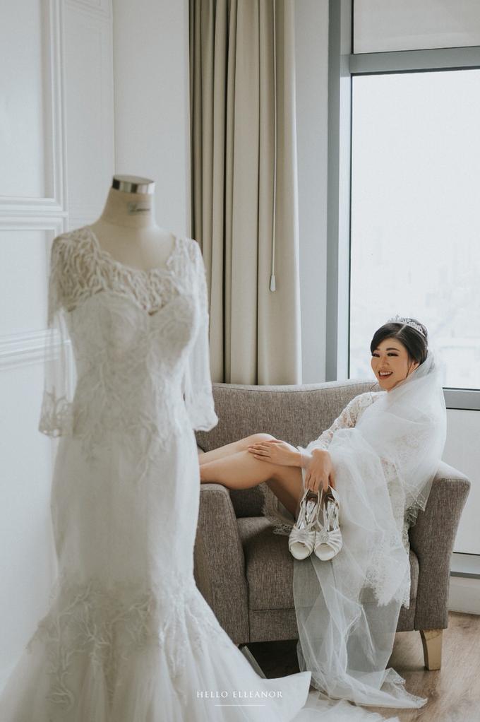 Wedding Day Robert and Nova by Luminous Bridal Boutique - 010