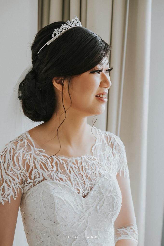 Wedding Day Robert and Nova by Luminous Bridal Boutique - 012