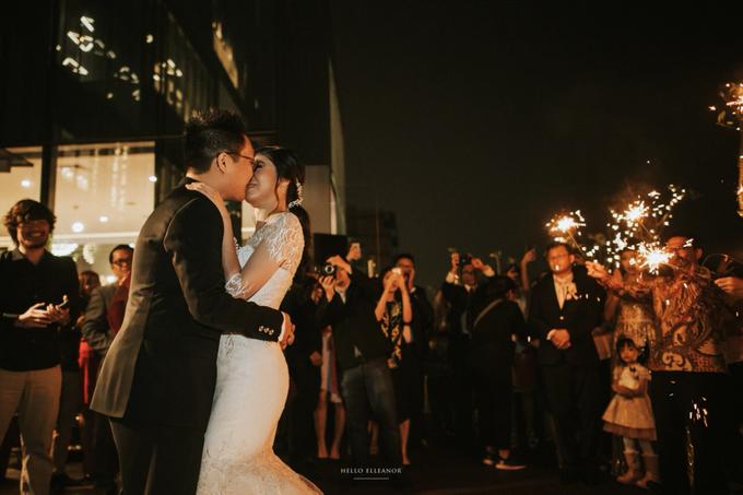 Wedding Day Robert and Nova by Luminous Bridal Boutique - 015