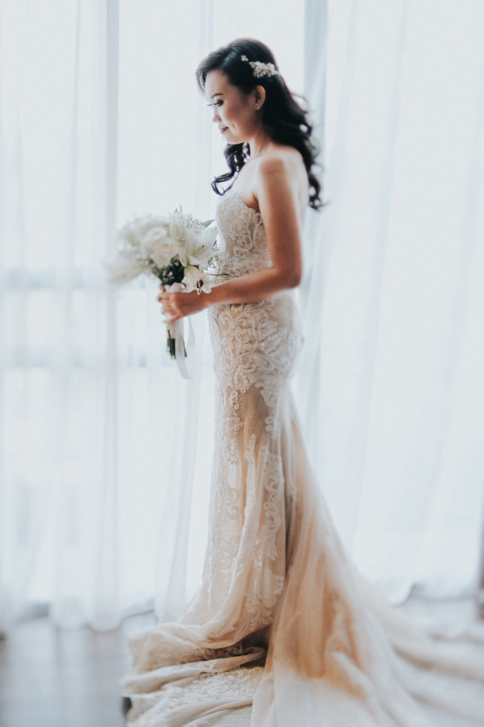 Wedding Day Alvin and Novie by Luminous Bridal Boutique - 005