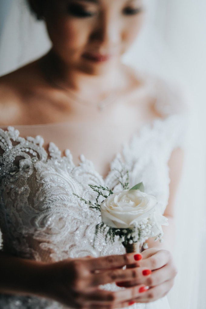 Wedding Day Alvin and Novie by Luminous Bridal Boutique - 004
