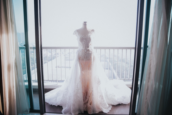 Wedding Day Alvin and Novie by Luminous Bridal Boutique - 006