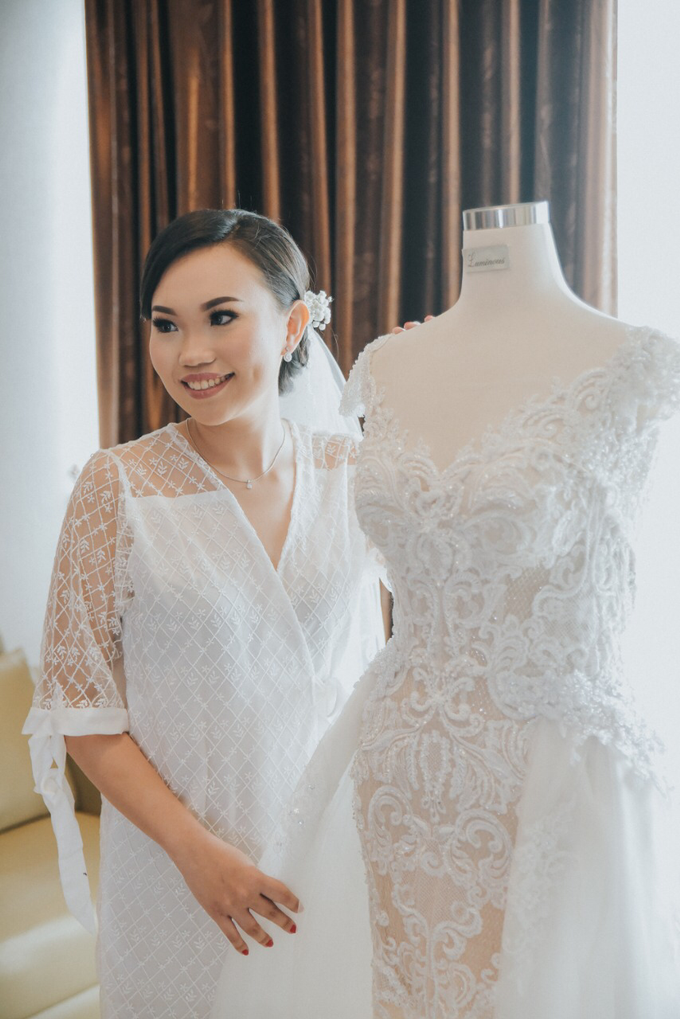 Wedding Day Alvin and Novie by Luminous Bridal Boutique - 007