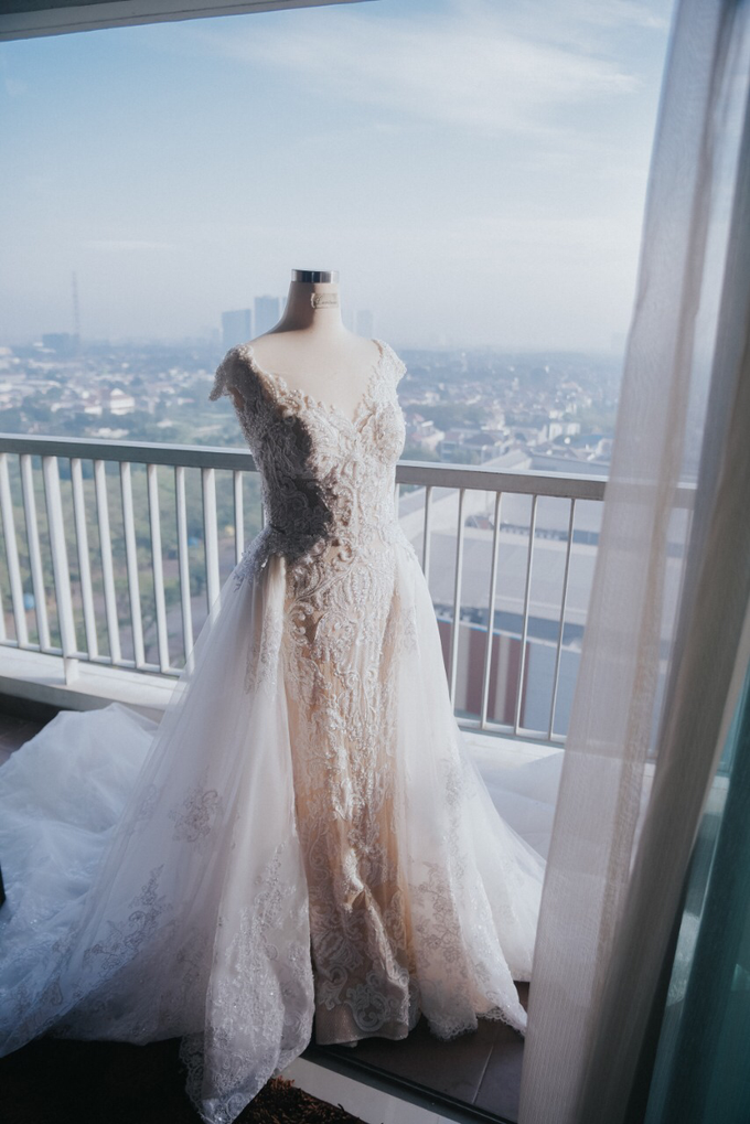 Wedding Day Alvin and Novie by Luminous Bridal Boutique - 008