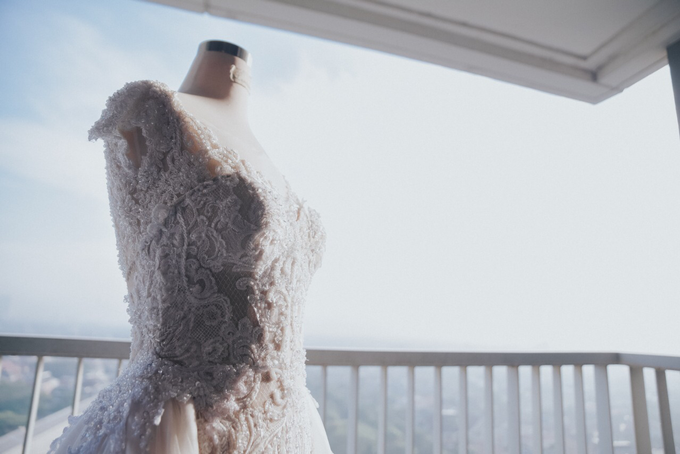 Wedding Day Alvin and Novie by Luminous Bridal Boutique - 009