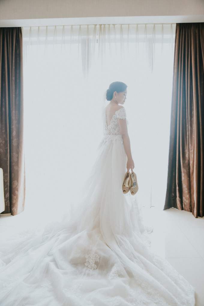 Wedding Day Alvin and Novie by Luminous Bridal Boutique - 011