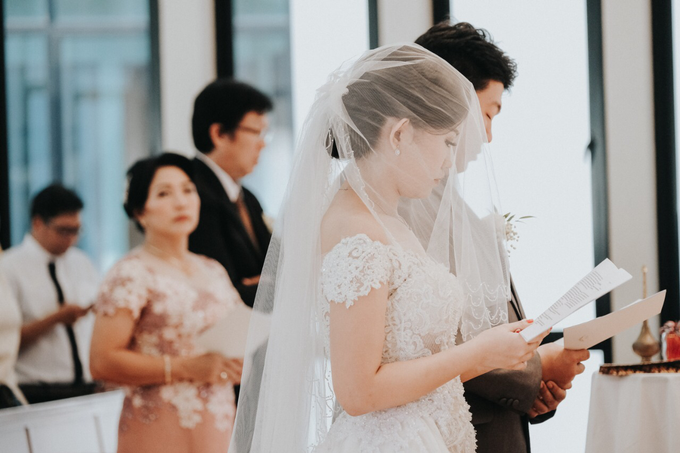 Wedding Day Alvin and Novie by Luminous Bridal Boutique - 013