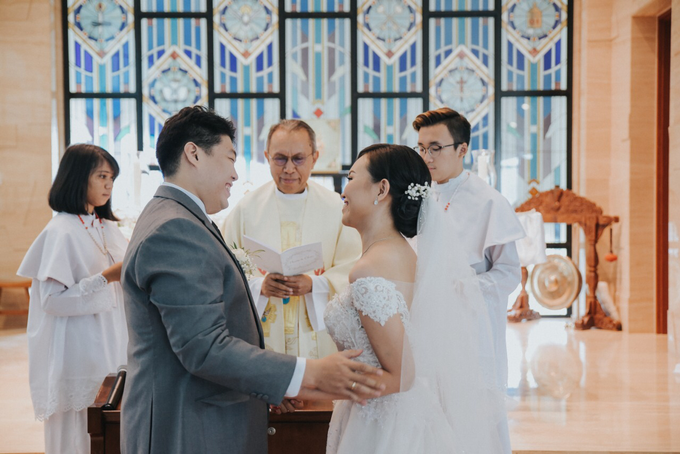 Wedding Day Alvin and Novie by Luminous Bridal Boutique - 014