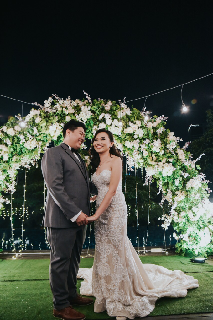Wedding Day Alvin and Novie by Luminous Bridal Boutique - 018