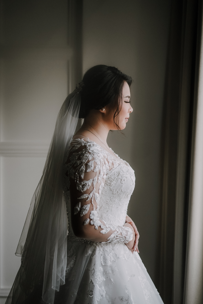 Wedding Day Edo and Heidy by Luminous Bridal Boutique - 009