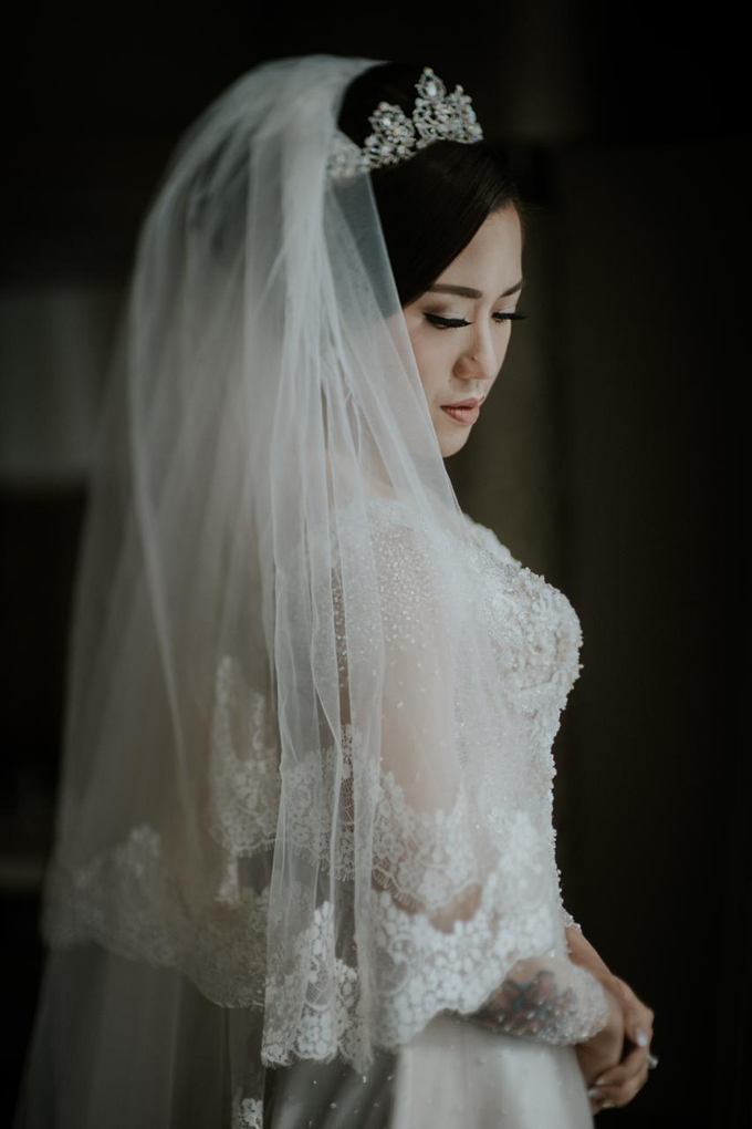Wedding Day Alam and Angel by Luminous Bridal Boutique - 006