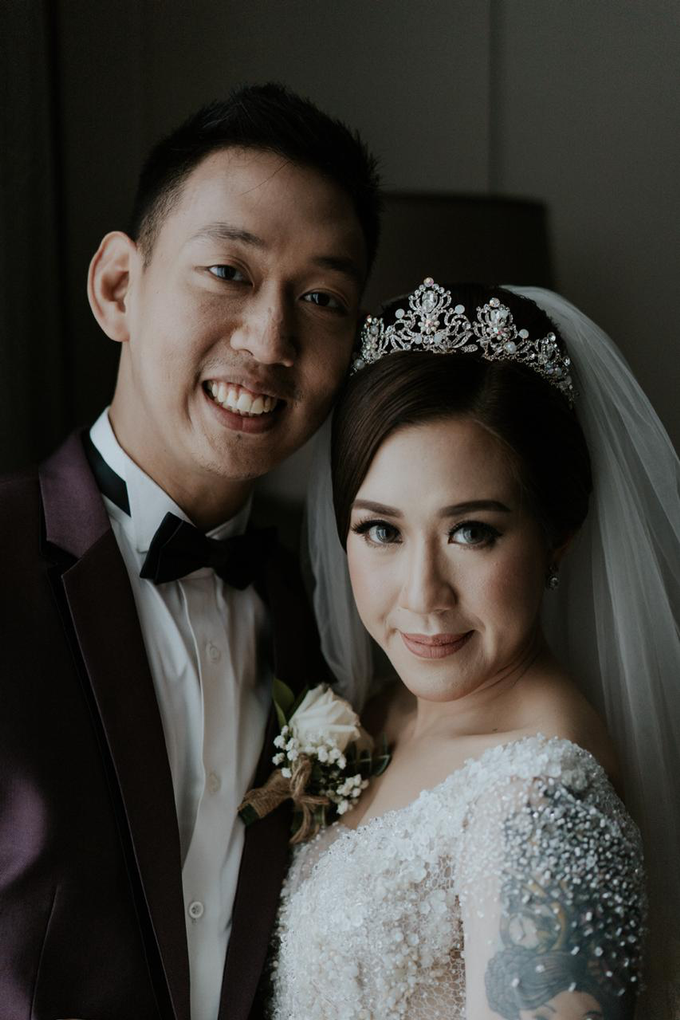 Wedding Day Alam and Angel by Luminous Bridal Boutique - 017