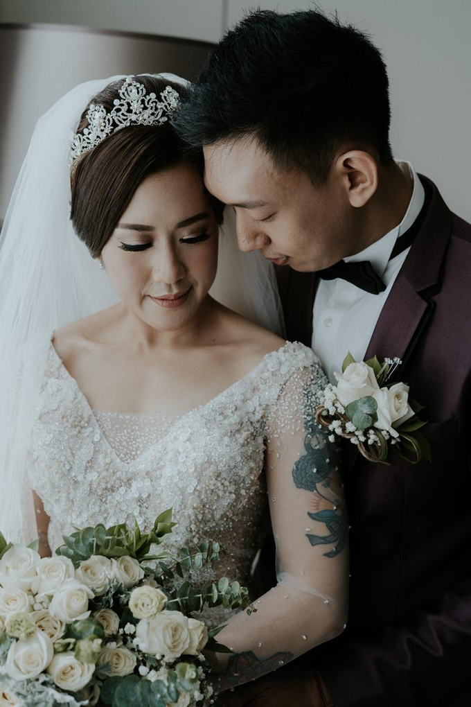 Wedding Day Alam and Angel by Luminous Bridal Boutique - 018