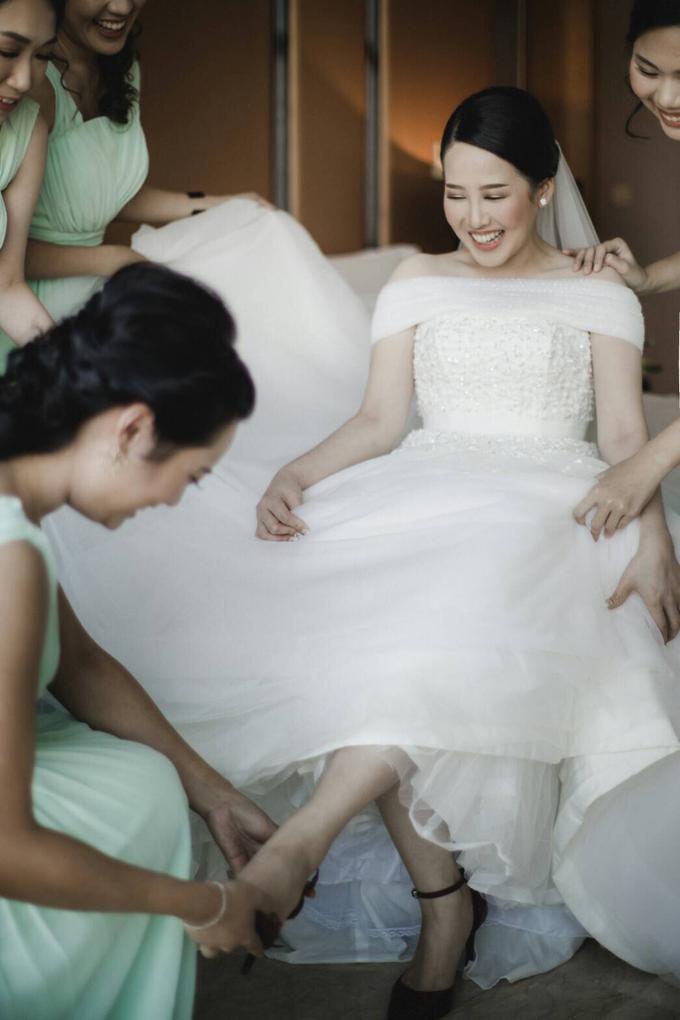 Wedding Day Natasha and Andrew by Luminous Bridal Boutique - 006