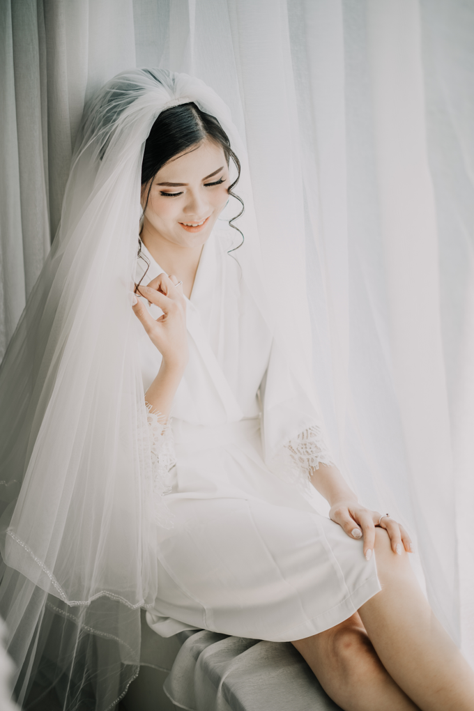 Wedding Day Arden and Septi by Luminous Bridal Boutique - 001