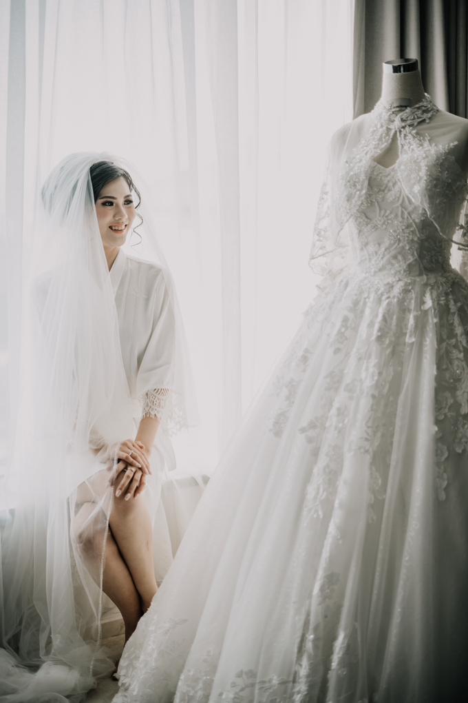 Wedding Day Arden and Septi by Luminous Bridal Boutique - 002