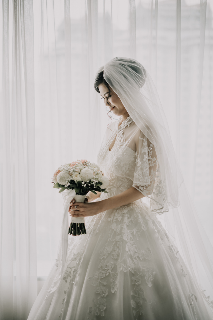 Wedding Day Arden and Septi by Luminous Bridal Boutique - 003