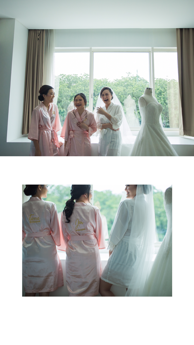 Wedding Day Chyntia and Adi by Luminous Bridal Boutique - 005