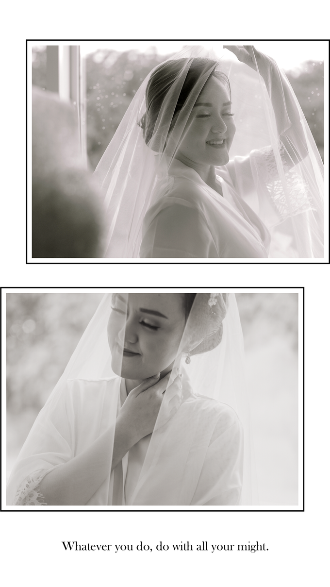 Wedding Day Chyntia and Adi by Luminous Bridal Boutique - 004