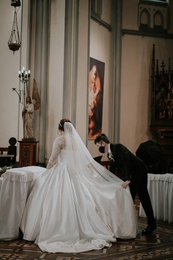 Wedding Day Ronald and Rara by Luminous Bridal Boutique - 003