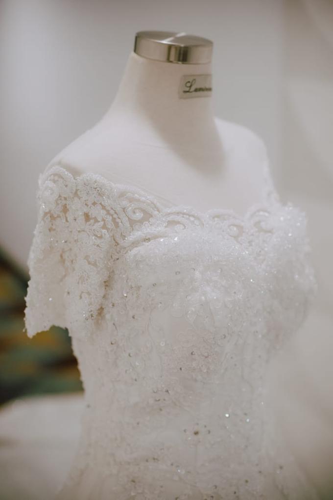 Wedding Day Ari and Nebula by Luminous Bridal Boutique - 004