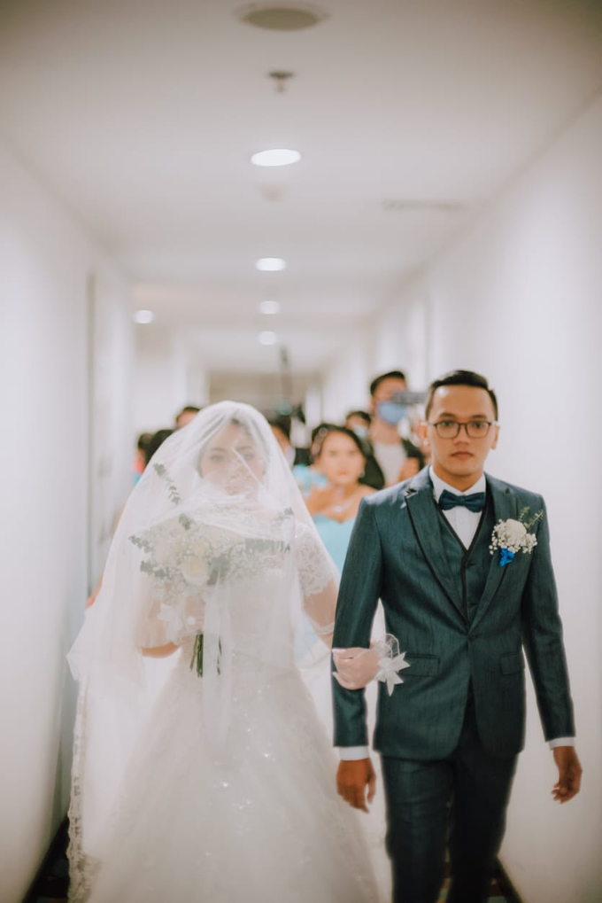 Wedding Day Ari and Nebula by Luminous Bridal Boutique - 009