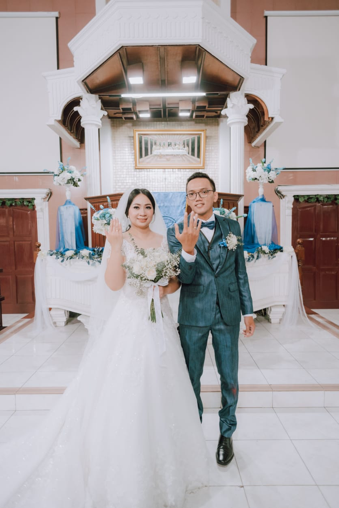 Wedding Day Ari and Nebula by Luminous Bridal Boutique - 013