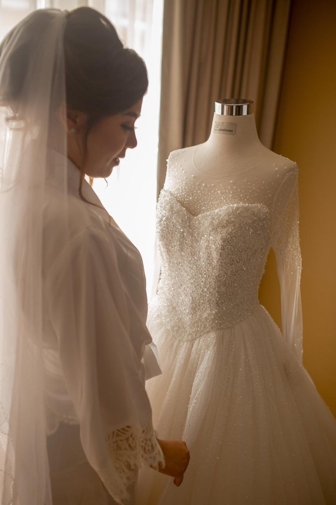 Wedding Day Jordie and Charista by Luminous Bridal Boutique - 004