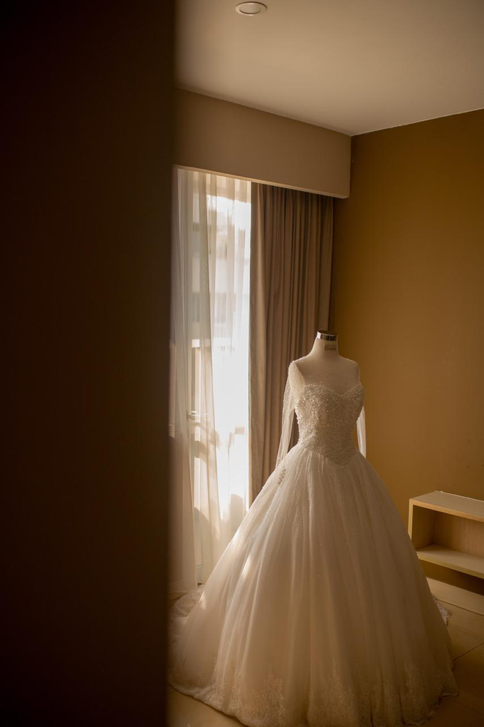 Wedding Day Jordie and Charista by Luminous Bridal Boutique - 005